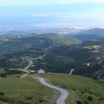 Σέρρες-Δάσος Λαϊλιά-Ο κάμπος από την κορυφή Αλή Μπαμπά