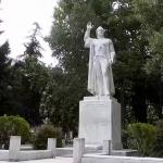 Σέρρες-Άγαλμα του Εμμανουήλ Παππά
